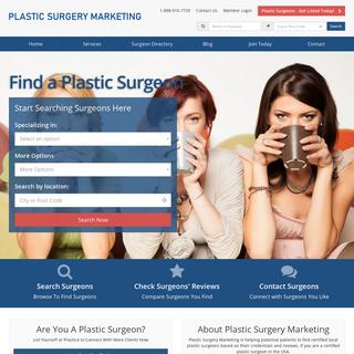 Plastic Surgery Marketing Helping Plastic Surgeons in USA