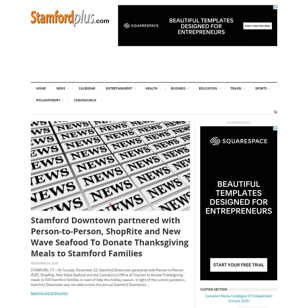 StamfordPlus.com – Local news and stories from Stamford and the area. Home of Stamford Plus magazine