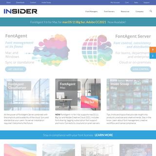 Insider Software - Creators of FontAgent