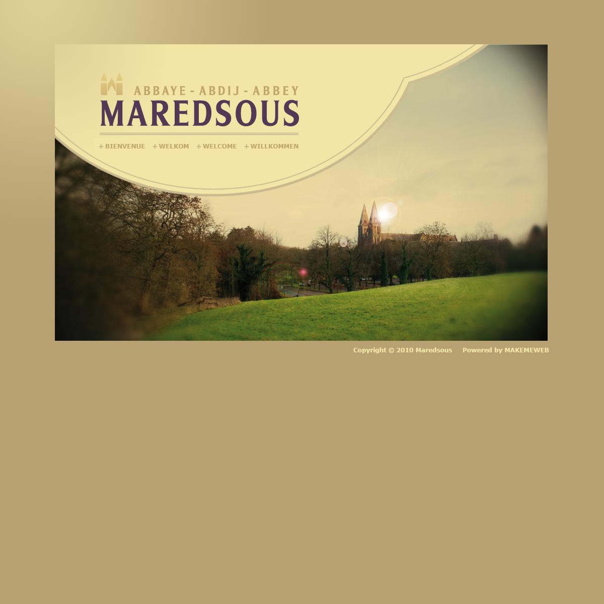 Abbaye de Maredsous- Abbaye de Maredsous