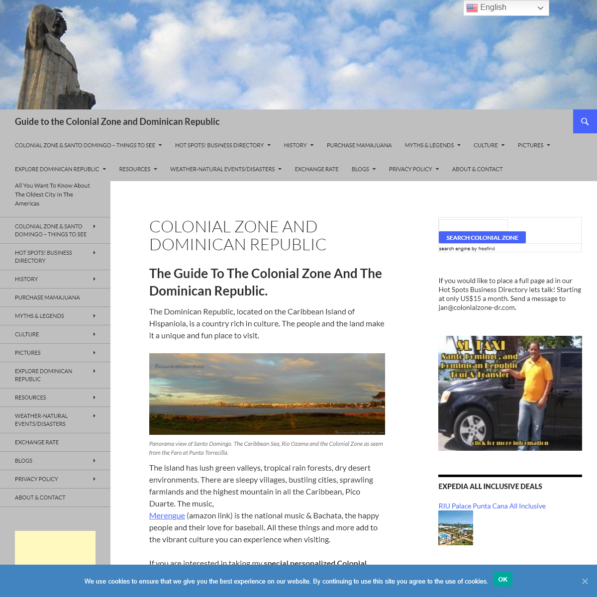 The Guide To Colonial Zone and Dominican Republic. Culture, History and More.