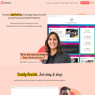Releasd - Create Captivating Coverage Reports