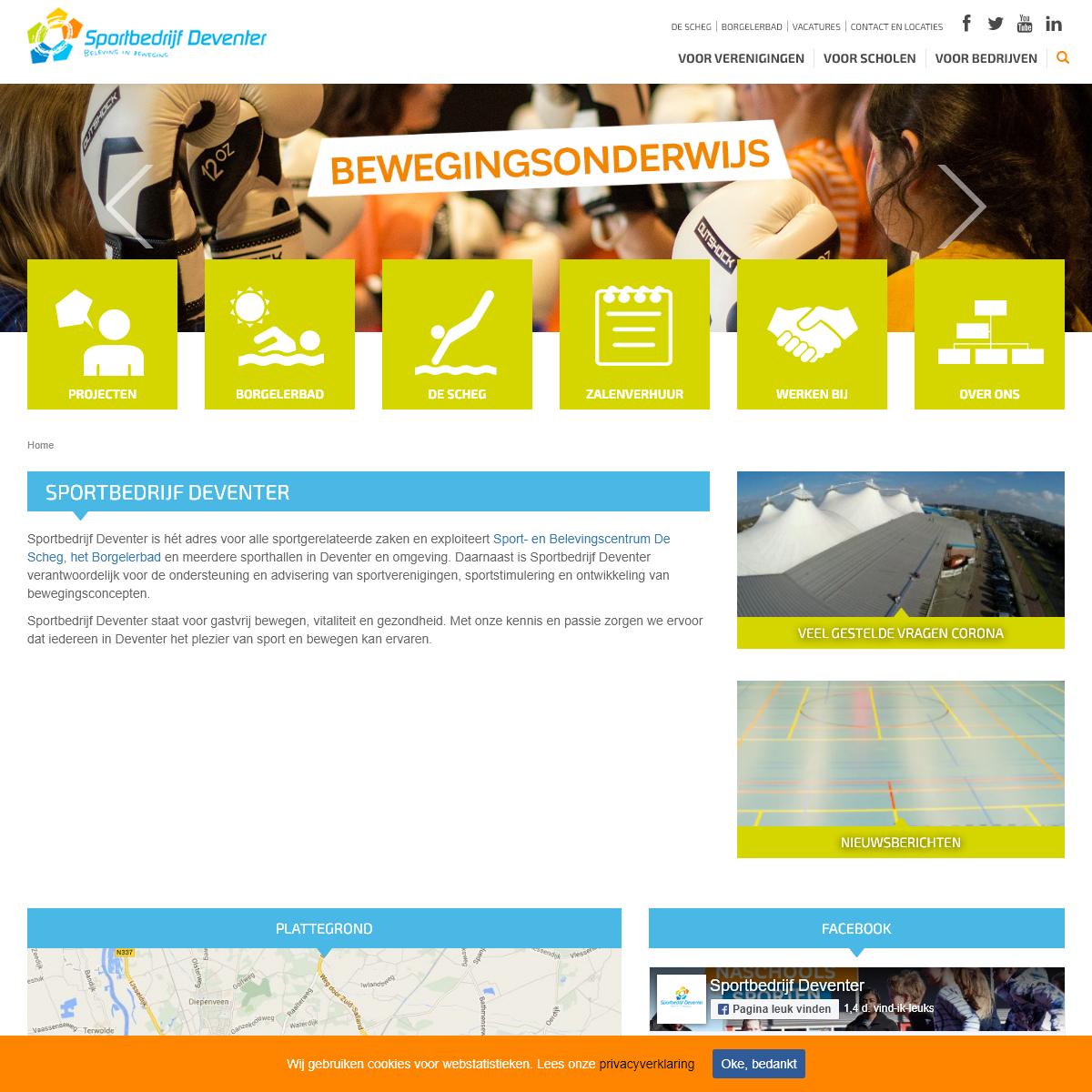 Sportbedrijf Deventer - Sportbedrijf Deventer