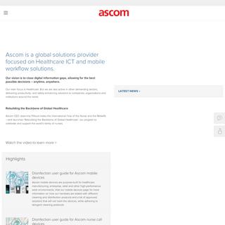 Ascom - Integrated Workflow Intelligence
