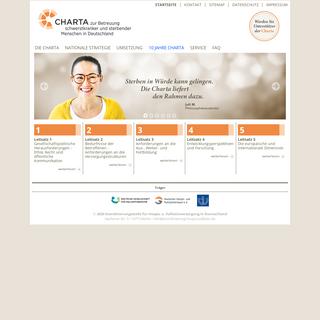 Startseite - Charta Website