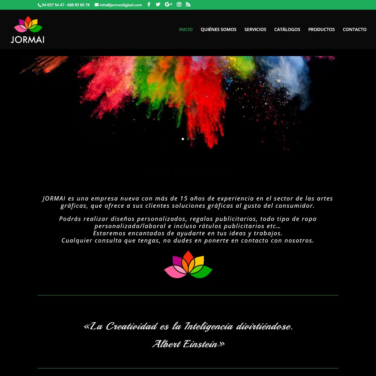 JORMAI Digital - Diseños personalizados, regalos publicitarios, todo tipo de ropa personalizada-laboral, rótulos publicitarios