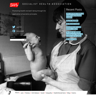 Socialist Health Association - Promoting health and well-being through the application of socialist principles