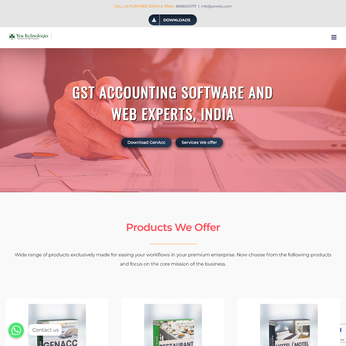 GST Accounting Software - GST Billing Software - India