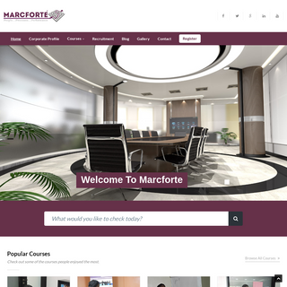 Marcforte - People…Processes…Performance
