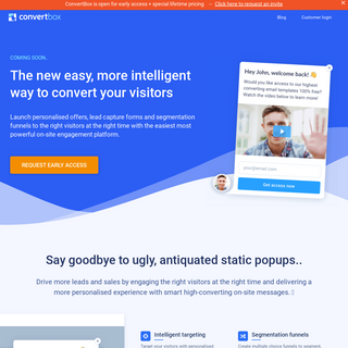 ConvertBox - Easy high-converting on-site messages