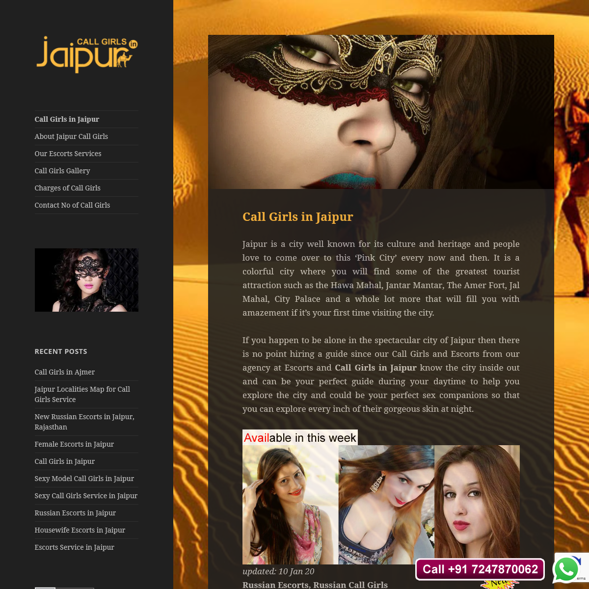 Call Girls Service in Jaipur, Independent Russian Call Girls in Jaipur