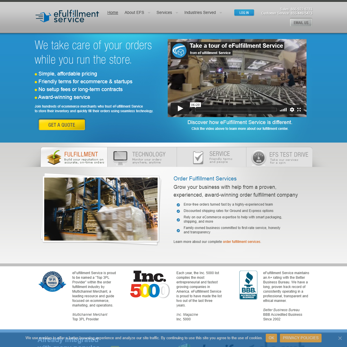 Product Fulfillment Services - eCommerce Order Fulfillment House - eFulfillment Service, Inc.