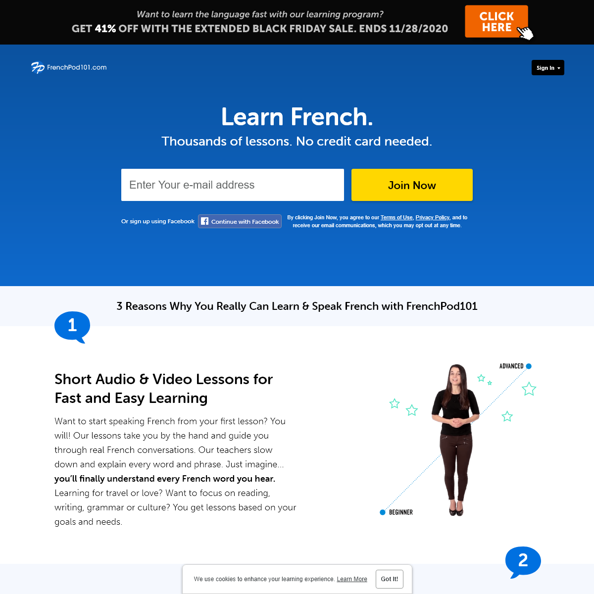 Learn French with a Native Speaker at FrenchPod101.com