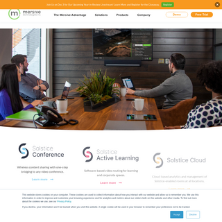 Meeting Collaboration Platform- Wireless Presentation and Conferencing