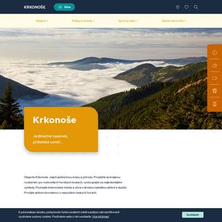 Krkonoše - oficiální webové stránky
