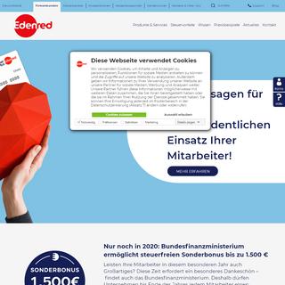 Edenred- Marktführer für Sachbezugslösungen - Edenred