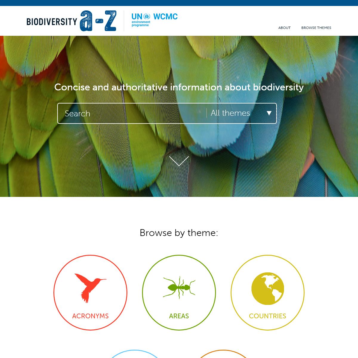Biodiversity A-Z
