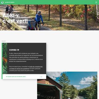 Accueil - La Route verte - La Route verte