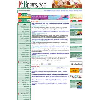Food & Beverage News