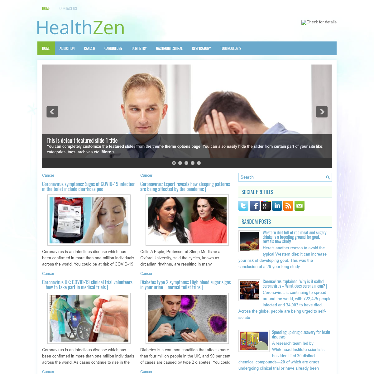 The Health information - Your online health expert
