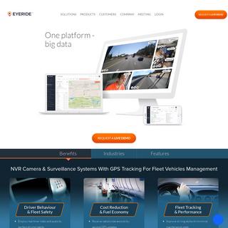 Fleet Camera DVRRecording & Surveillance Systems- GPS Tracking For Fleet Vehicles Management