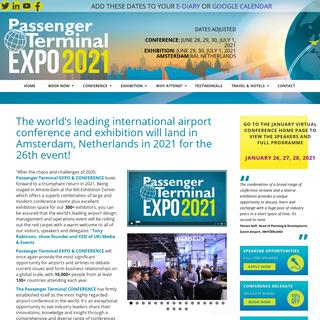 Passenger Terminal EXPO 2021 - Home