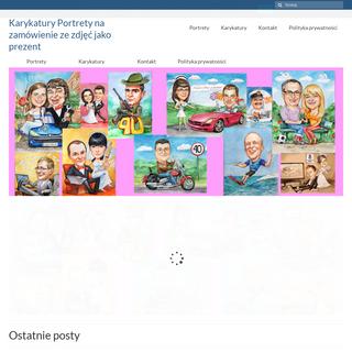Karykatury Portrety na zamówienie ze zdjęć jako prezent -