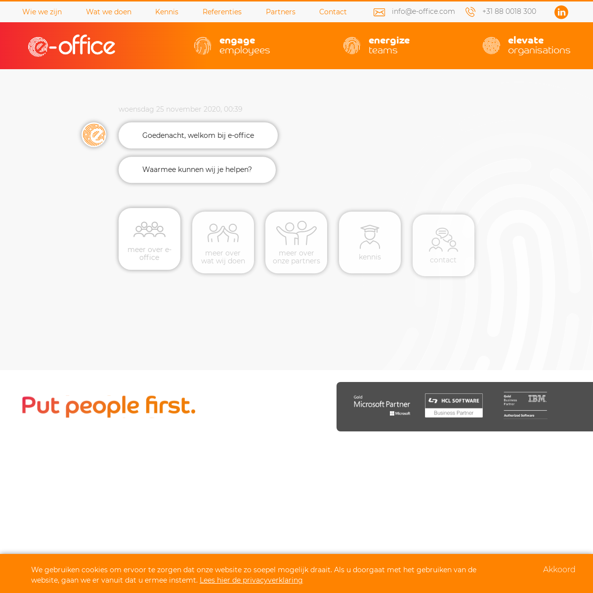 Put people first - e-office