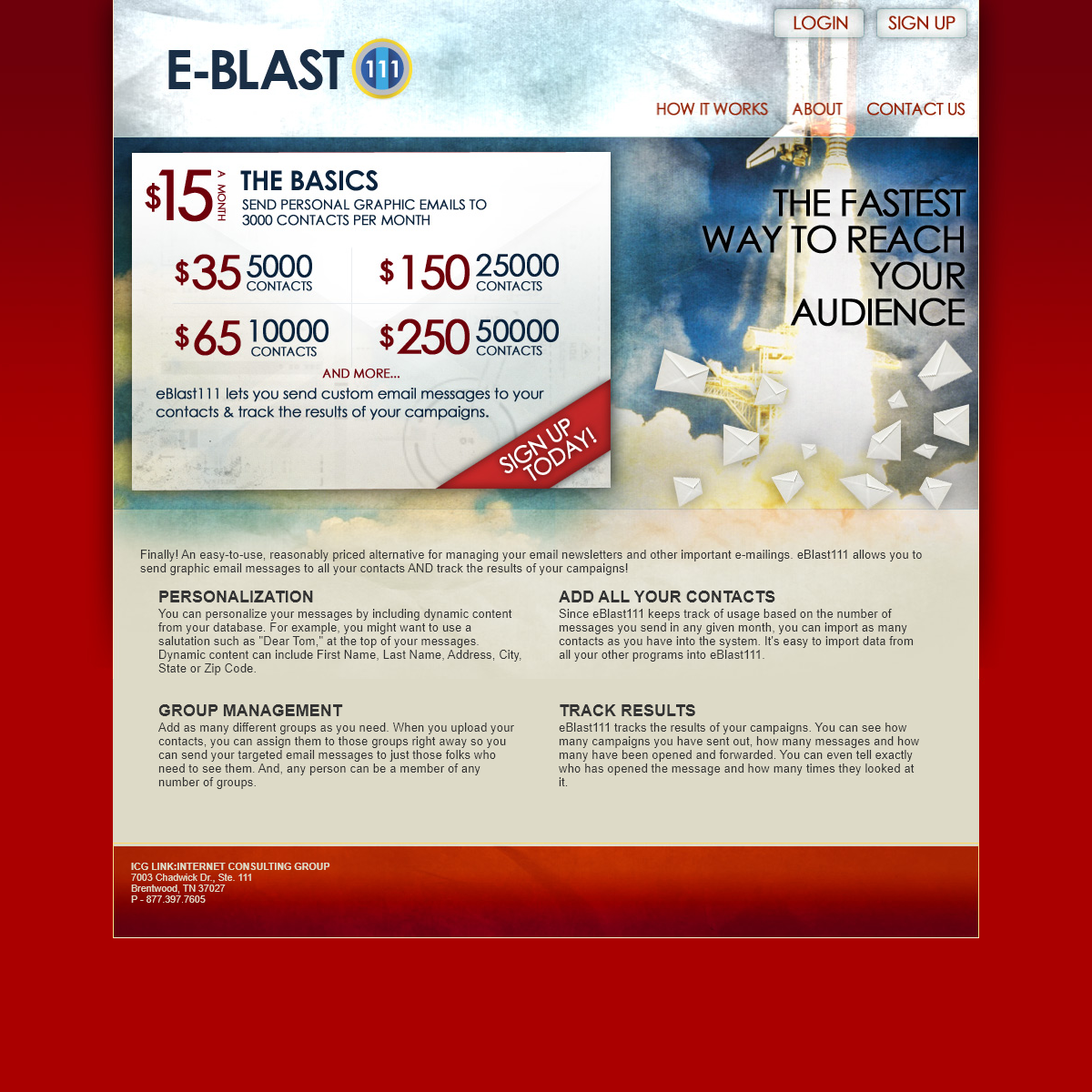Eblast111 - The Fastest way to reach your audience through email marketing