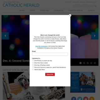 Home - The Arlington Catholic Herald