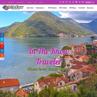 Best Online Travel Magazine - In the Know Traveler