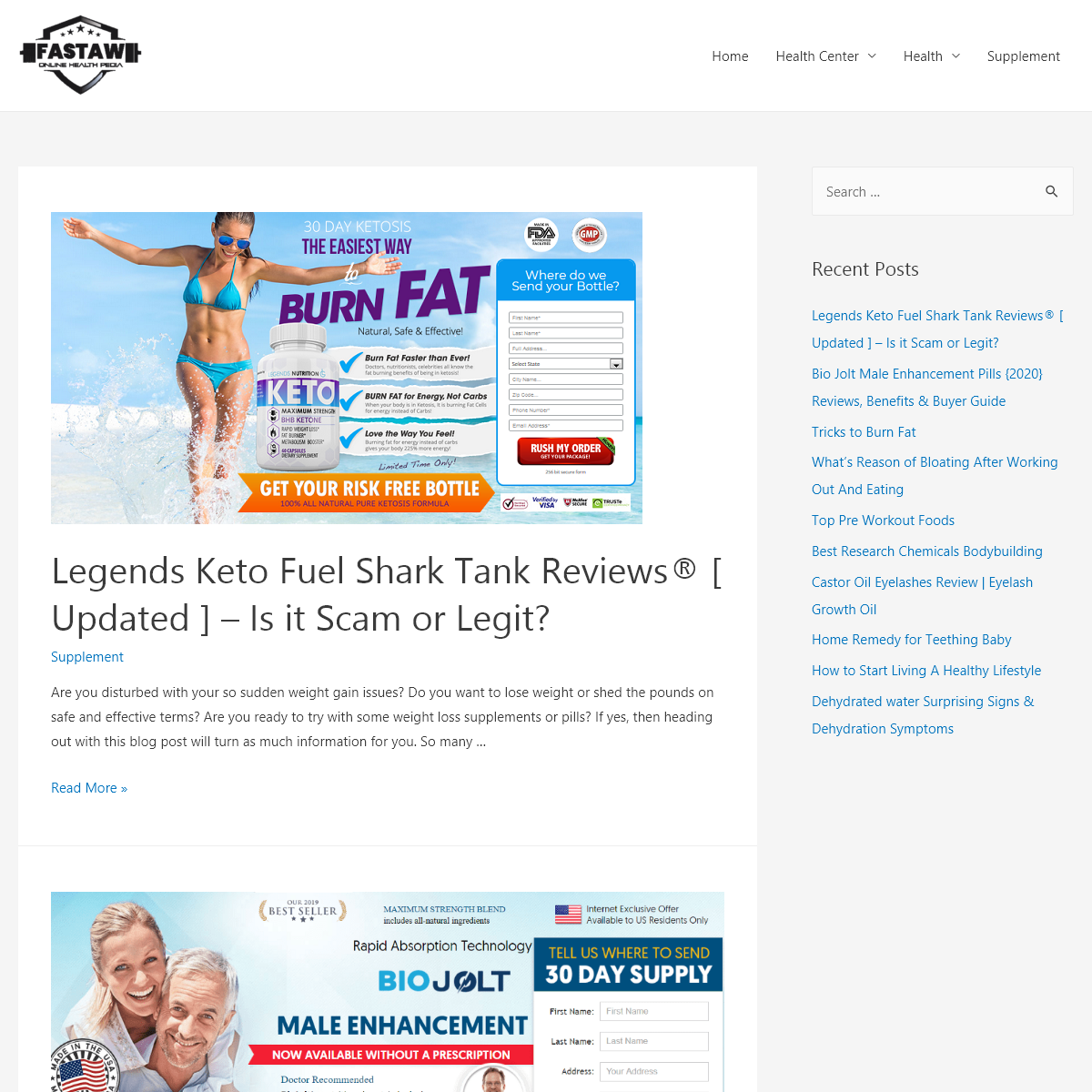 Fastaw - Best Weight Loss and Male Enhancement Products