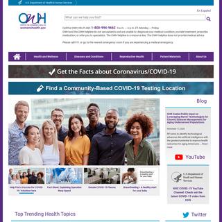 Office on Women`s Health - womenshealth.gov