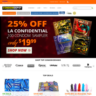 A complete backup of www.condomdepot.com