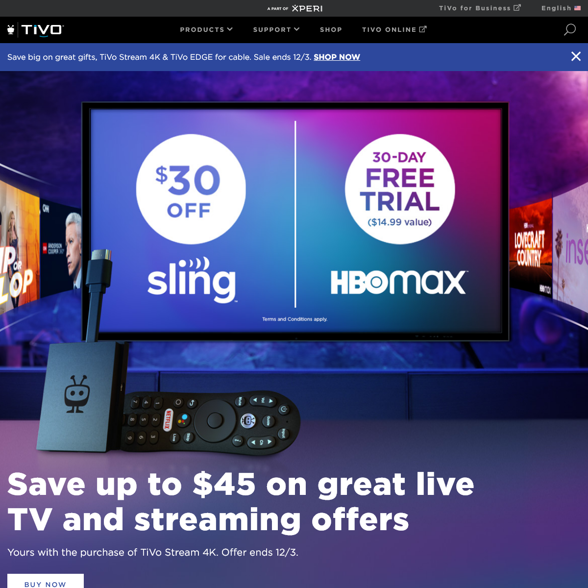 TiVo - Best OTA DVRs, Cable DVRs and Streaming Player
