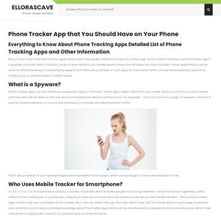 Ellorascave – Phone Tracker Software