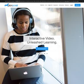 PlayPosit - Interactive Video Platform
