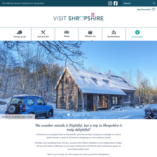 Visit Shropshire - The official tourism website for Shropshire