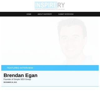 Inspirery - Interviews with Executives & Entrepreneurs