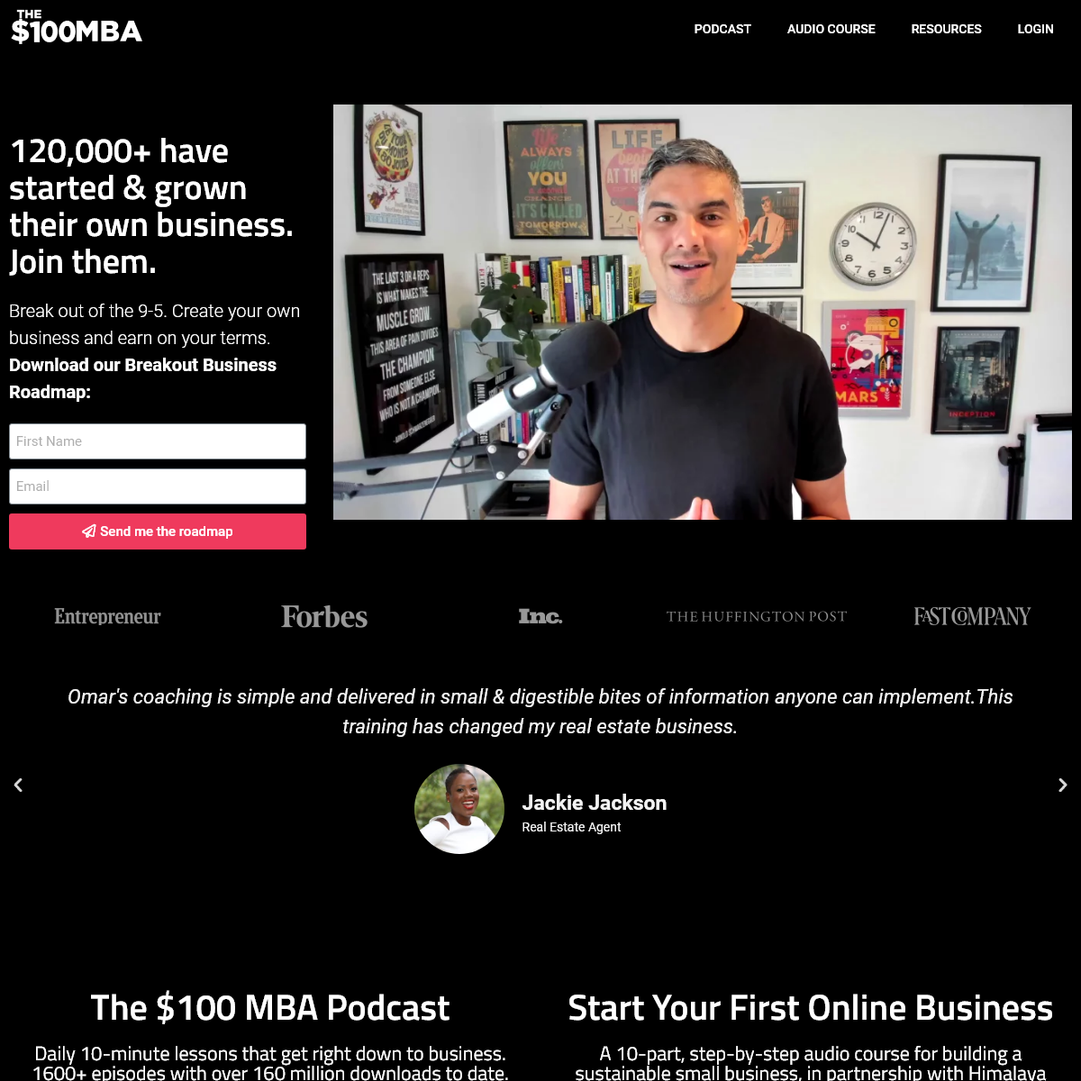 The $100 MBA - Start & Grow Your 6-Figure Business