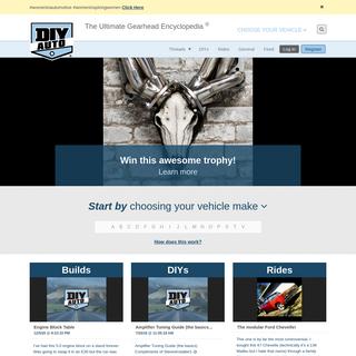 DIY Auto Builds, Repairs, Articles & More - DIY Auto