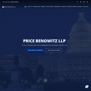 Price Benowitz LLP - Experienced Legal Representation