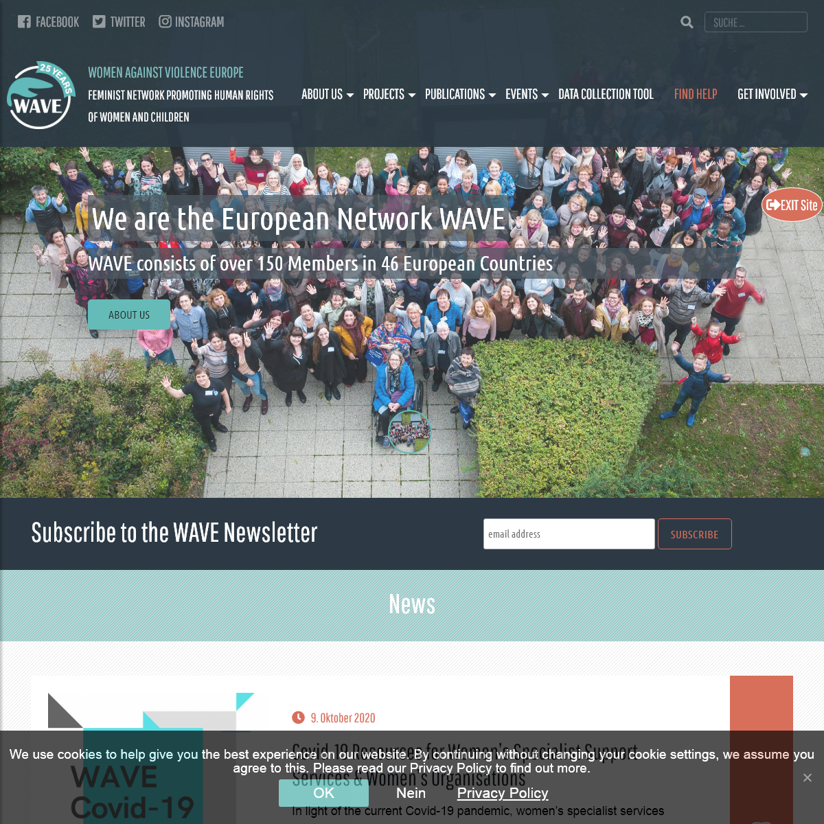 Startseite - Main Page - WAVE Network WAVE Network