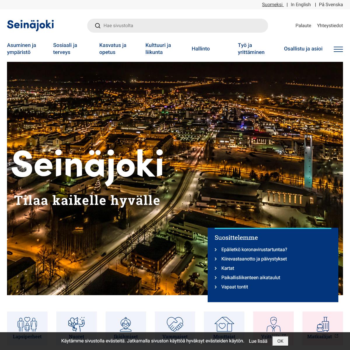 Seinäjoki - Avaruuden pääkaupunki