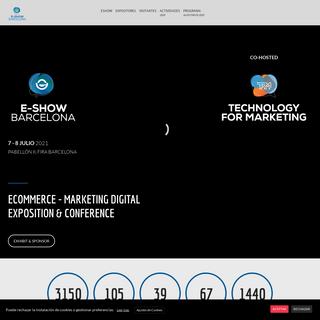 eCommerce - Marketing Digital Exposition & Conference - eShow - Congreso profesional de eCommerce y Marketing Digital
