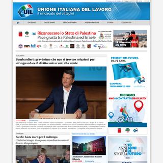 UIL.it - Unione Italiana del Lavoro- il Sindacato dei Cittadini.