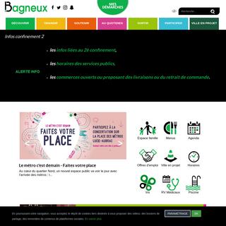 Site officiel de Bagneux