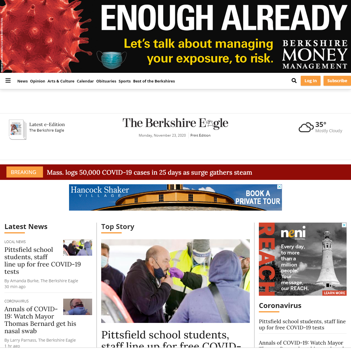 berkshireeagle.com - New England Newspapers Inc.