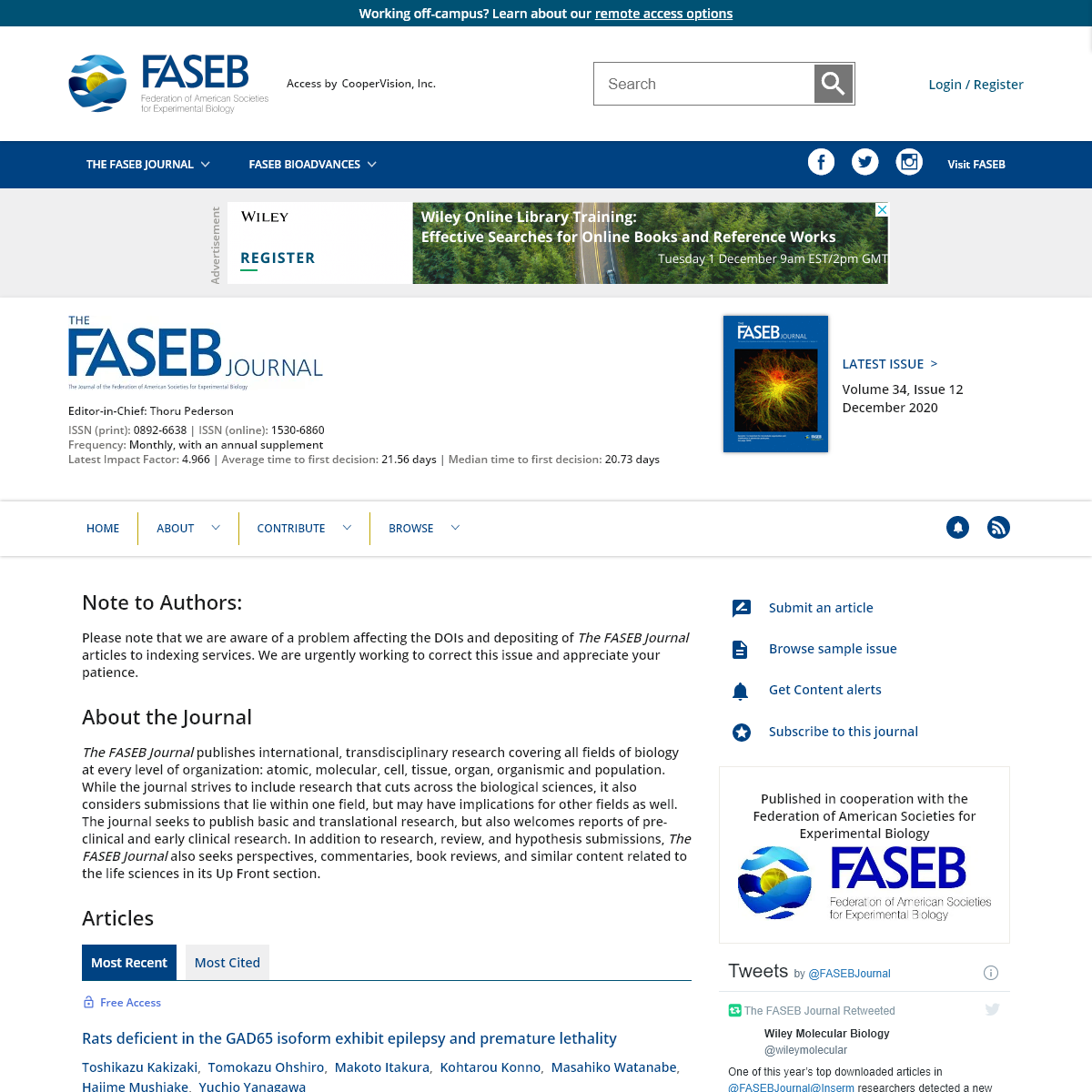 The FASEB Journal - Wiley Online Library
