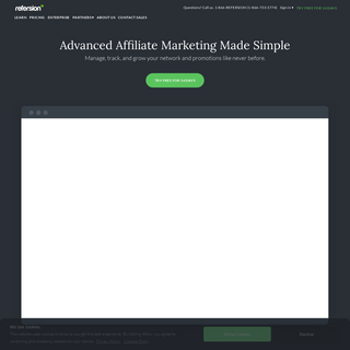 Affiliate Marketing Software - Refersion